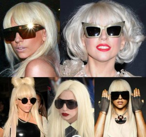 De vildeste solbriller Lady Gaga