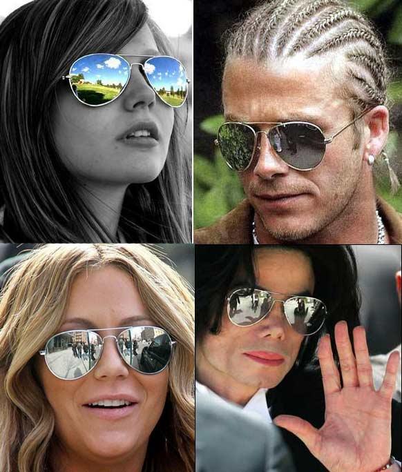 kendt med solbriller