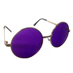 68180b68d80e Lilla solbrille i rundt hippie design - Design nr. 1000