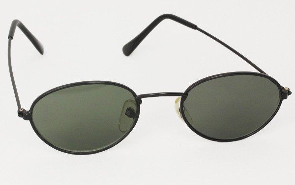 Oval metal solbrille - Design nr. 3010