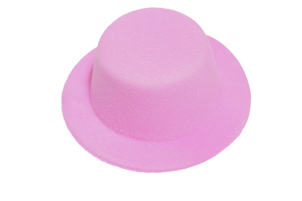 Miniature hat i enkelt design - Pink