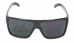 Sort maskulin solbrille i robust design. - Design nr. 3084