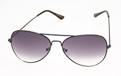Sort aviator / pilot solbrille - Design nr. 480