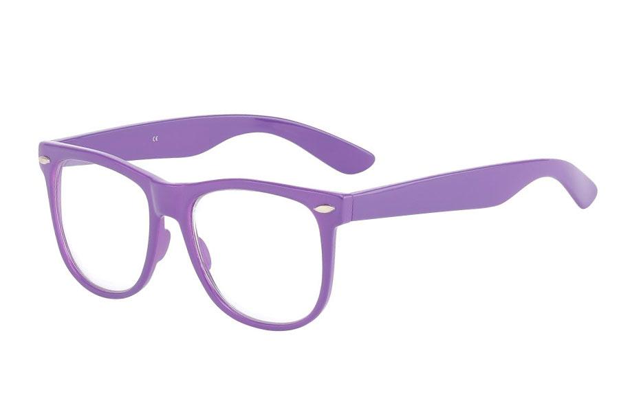 cb8d1a9d6bc3 Lilla brille med glas uden styrke - Design nr. 833