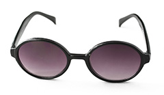 Sort oval solbrille - Design nr. 901